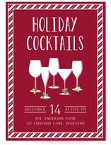 Holiday Cocktail Party Holiday Party Online Invitations