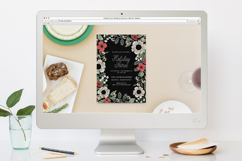 Soiree Holiday Holiday Party Online Invitations