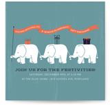White Elephant Parade by Tina Kuczaj