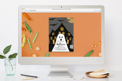 Spooky Night Halloween Online Invitations