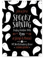 Spooky Shindig Halloween Online Invitations