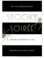 Spooky Spider Soiree