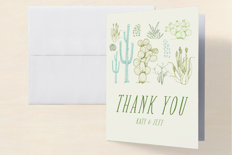 Cacti Open House Housewarming Party Thank You Cards