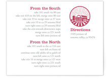 Iconic Barnyard Directions Cards