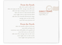 The Seasonal Send-Off Directions Cards