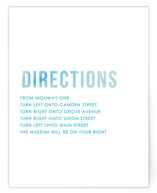 Ombre Directions Cards