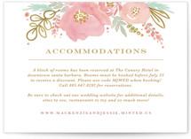 Floral Vignette Direction Cards