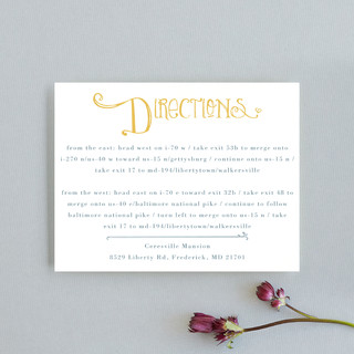 Once Upon Direction Cards