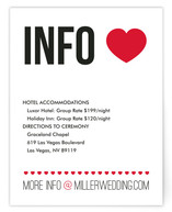 Vegas Type Directions Cards