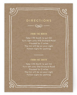 Hand Delivered Directions Cards