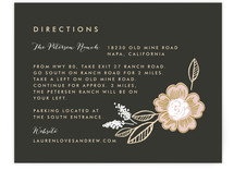 Botanical Wreath Directions Cards