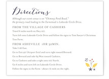 Merry Garden Directions Cards