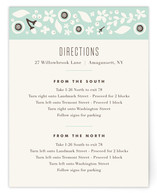 Grenadille Bleue Directions Cards