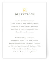 Stitched Sunburst Directions Cards