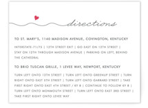 Love Connection Directions Cards