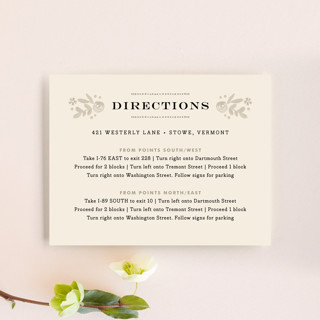 Sun Bleached Florals Direction Cards