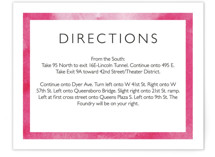 Skyline -New York Direction Cards