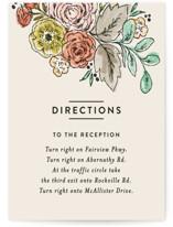 Dahlia Bouquet Direction Cards
