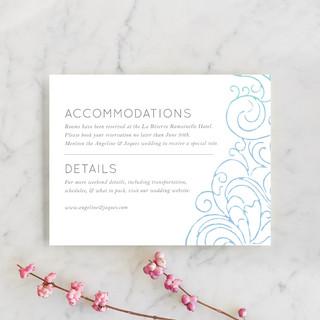 Ocean Flourish Direction Cards