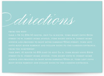 Sweet Scallop Directions Cards