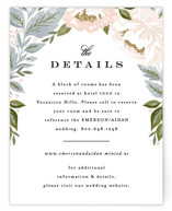 Peony Floral Frame Direction Cards
