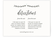 Always Direction Cards