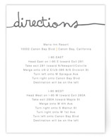 The Happy Couple Directions Cards
