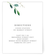 Spring Wildflowers Direction Cards