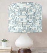 The City Drum Lampshades
