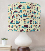 Little Builders Drum Lampshades