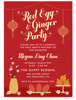 Red Egg & Ginger Party