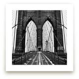 Snowing Bridge by Jason Derck