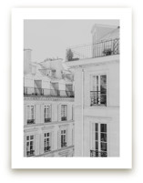 Parisian Rooftops Wall Art Prints