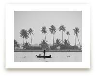 Fisherman and his Canoe