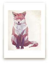 Geometric Fox by Keri Chubb
