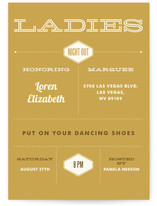 Ladies Night Girls Night Out Online Invitations