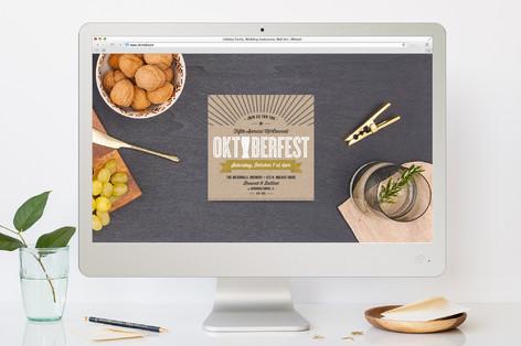 Labeled Oktoberfest Oktoberfest Online Invitations
