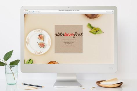 Octobeerfest Oktoberfest Online Invitations