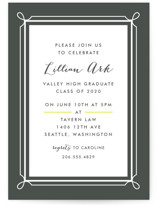 Lattice Graduation Online Invitations