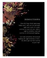 Fantasy Foil-Pressed Direction Cards