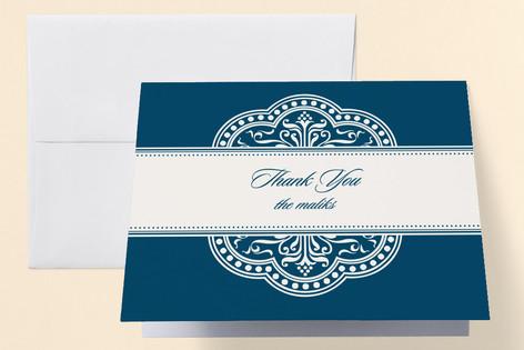 Ornamental Ramadan Iftar Dinner Thank You Cards