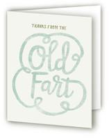 Old Fart Birthday Invite