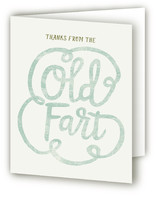 Old Fart Birthday Invite