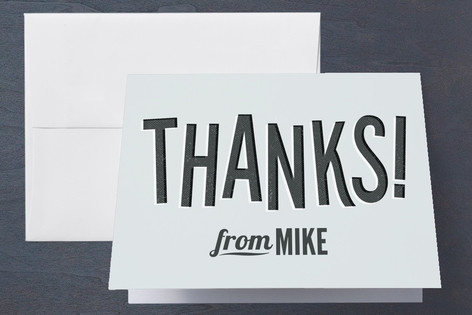 Sneaky Surprise Adult Birthday Party Thank You Cards