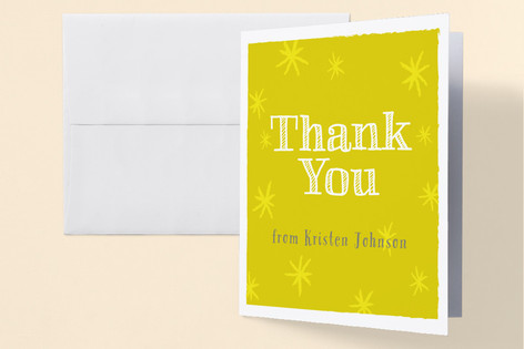 Looking Good! Adult Birthday Party Thank You Cards