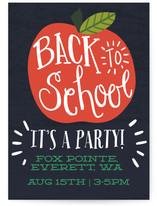 Back To School Apple