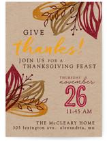 Artsy Leaves Thanksgiving
