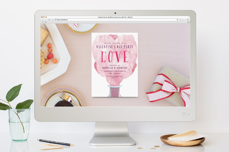 True Chemistry Valentine's Day Online Invitations