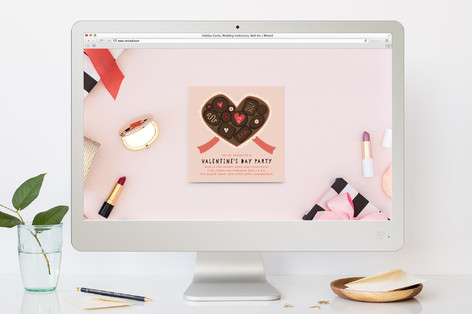 Valentine's Day Chocolates Valentine's Day Online Invitations