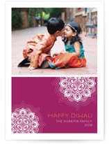 Modern Rangoli Diwali Cards